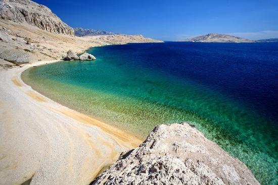 Playa Sakarun, Isla de Dugi Otok, Croacia