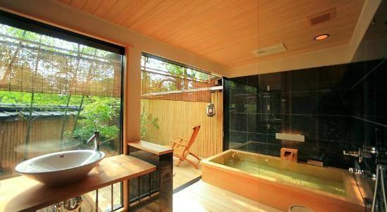 Kyoto Ryokan Kinoe Hotel Room Photo 2650589 Ryokan Japan Room Japanese Bathroom