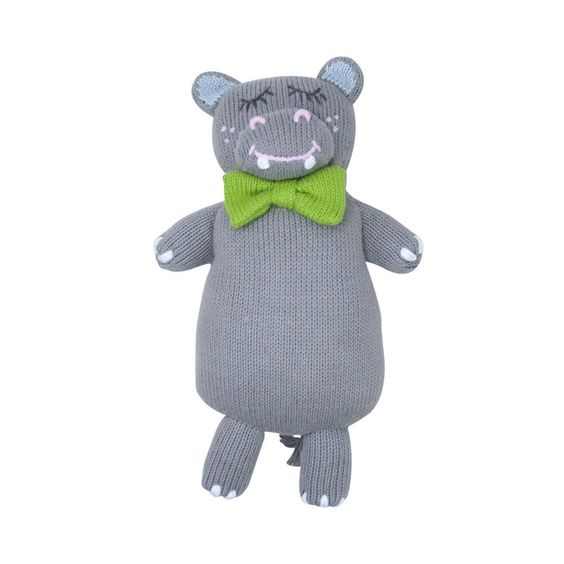 Night Night Knit Doll - Iwant A. Hippopotamus - The Beaufort Bonnet Company