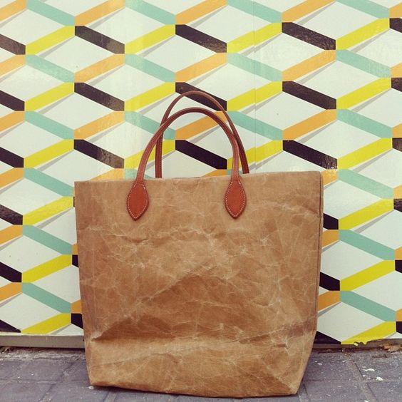 My new paper bag Ashmama