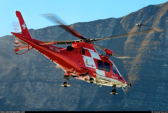 REGA - Swiss Air Ambulance – Agusta Westland Agusta A-109SP HB-ZRP