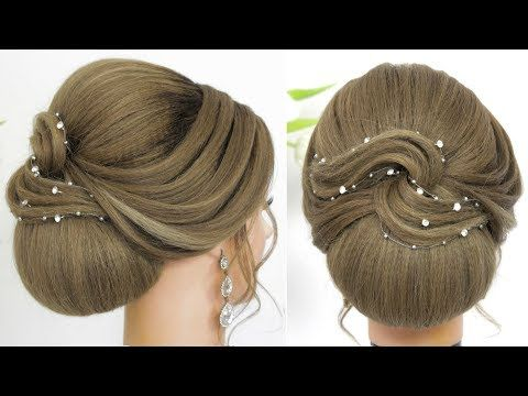 New Hairstyles For Long Hair Updo Tutorial 2020 Youtube Long Hair Updo Hair Updos Tutorials Updo Tutorial