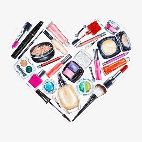 O Material De Maquiagem Ferramentas Salao De Beleza Maquiagem