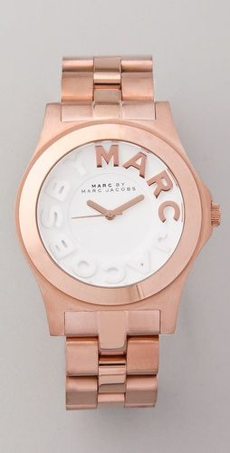 Marc by Marc Jacobs Metal Rivera Logo Watch  http://www.originalwatchstore.com/brand/marc-by-marc-jacobs/