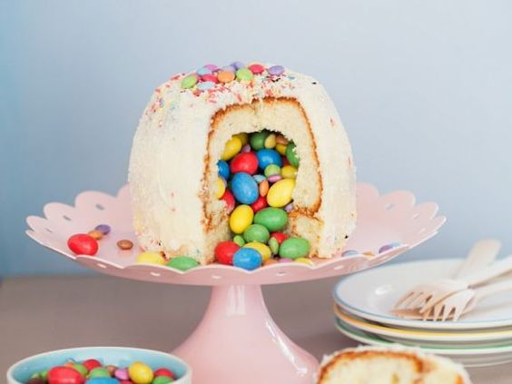 Gefüllter Kuchen mit Schokolinsen ist ein Rezept mit frischen Zutaten aus der Kategorie Kuchen. Probieren Sie dieses und weitere Rezepte von EAT SMARTER!