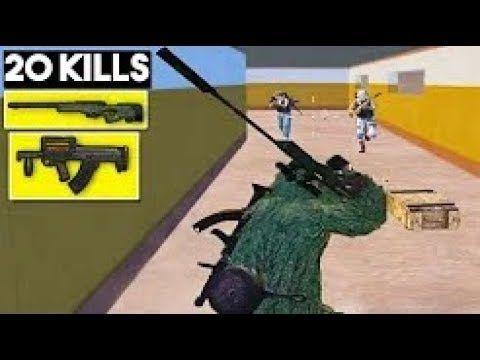 Best Weapon Combo Awm Groza 20 Kills Solo Vs Squad Pubg Mobile