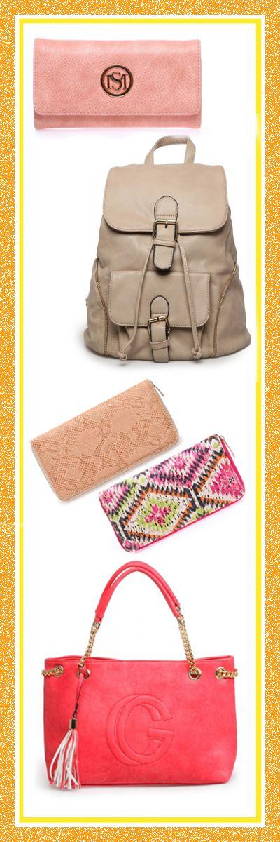 Soldes sur lamodeuse.com ! On craque pour un nouveau sac ou portefeuille ! #soldes #été #2016 #blog #mode #shopping #achat #jaune #modeuse