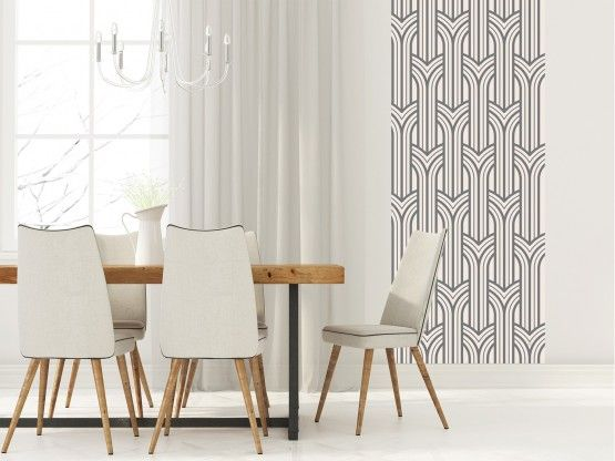 Queen Mary Gris 80 Cm Papiers Peints Adhesifs Le Grand Cirque Papier Peint Papier Peint Adhesif Decoration Maison