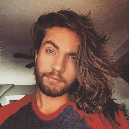 25 Cute Hairstyles For Guys To Get In 2020 Mens Hairstyles Long Hair Styles Men Long Hair Styles
