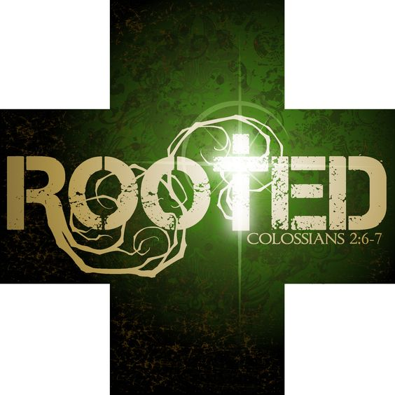 I like how the roots integrate, great visual representation of the name.
