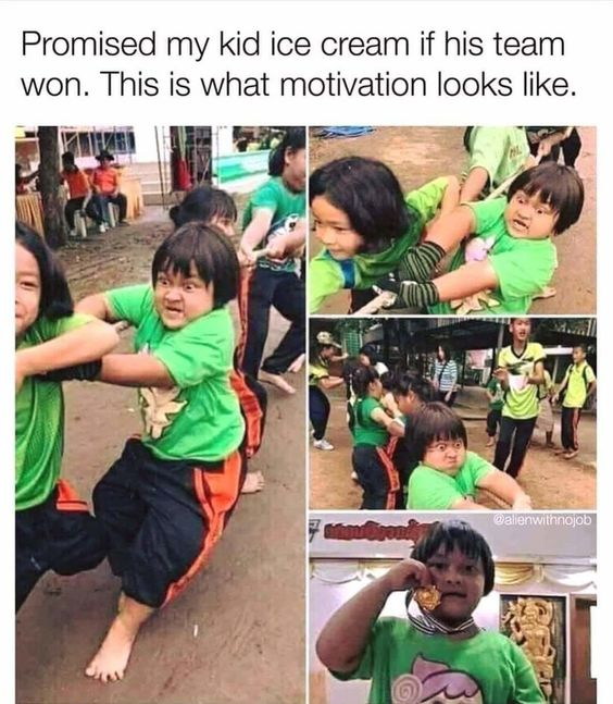 I Want This Same Motivation