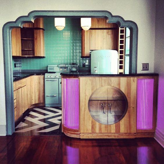 Cuisine Art Deco