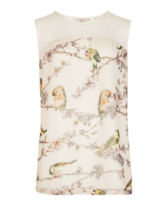 Printed jersey top - BROOKY - Ted Baker