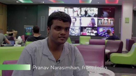 Pranav Narasimhan,from India, is studying computer science at UCD