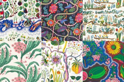 Celebrating the forthcoming Josef Frank exhibition, see the pictures on Vogue.