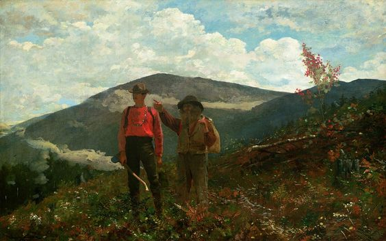 Winslow Homer, The Two Guides, 1875, oil on canvas
