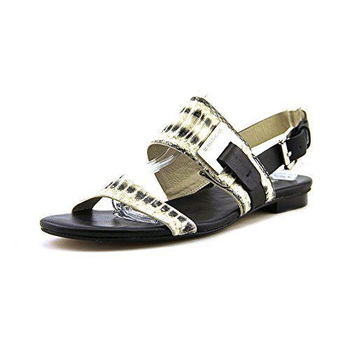 Michael Michael Kors Guiliana Flat Sandal Womens Size 6.5