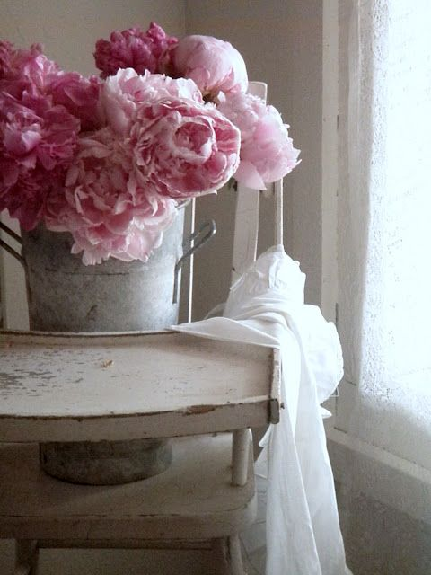 . . . Cabin & Cottage: Peonies In The Spotlight <3
