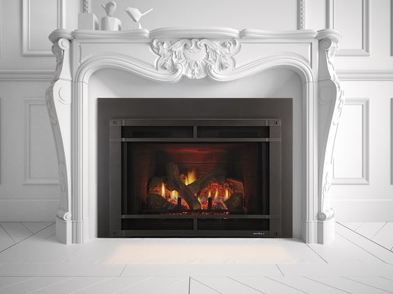 Heat And Glo Escape Firebrick Insertsescape 130 F Is What Osborn Installed The Fireside Store In Laurel Md Supp Gas Insert Gas Fireplace Insert Gas Fireplace