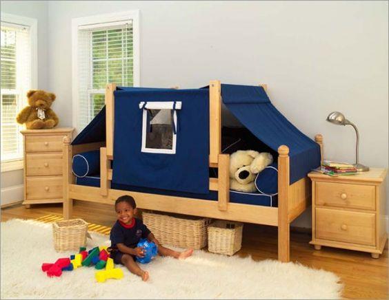 toddler camping room