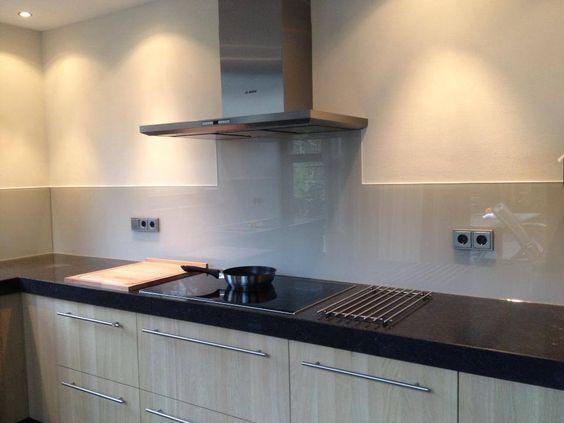 Kunststof Achterwand Keuken Verven : spatwand keuken glas – Google zoeken – keuken – werkblad – spatwand