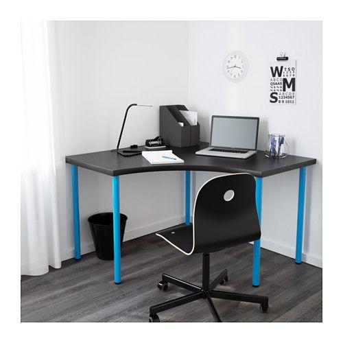 Linnmon Adils Corner Table White 47 1 4x47 1 4 Ikea In 2020 Ikea Corner Desk Corner Table Beautiful Houses Interior