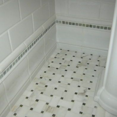 baseboards traditional and tile on pinterest