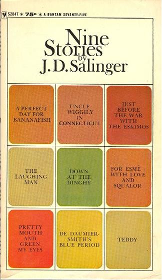Books: Nine Stories, by J.D. Salinger. As a youngster, I loved this book. Still do as an adult. It's another great read from J.D. Salinger.