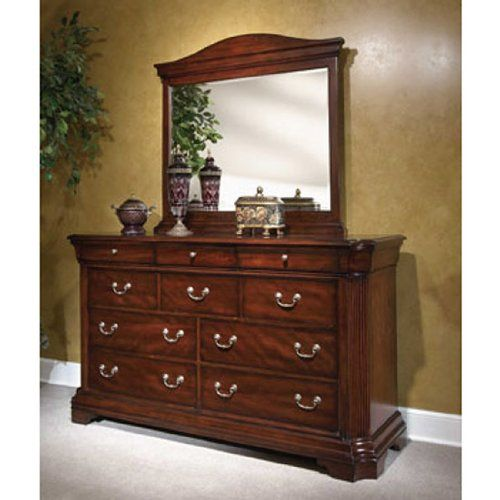Chateau Calais Sleigh Bedroom Set (King) By