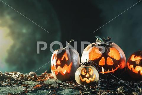 Halloween Digital Backdrop Roof Chimney Digital Backgrounds 2