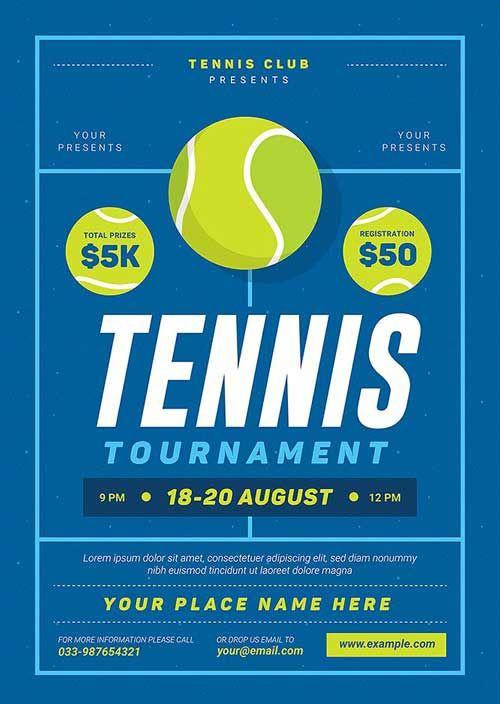 Tennis Tournament Event Flyer Template Https Ffflyer Com Tennis Tournament Event Flyer Template Poker Night Tennis Tournaments Tennis Posters Event Flyer