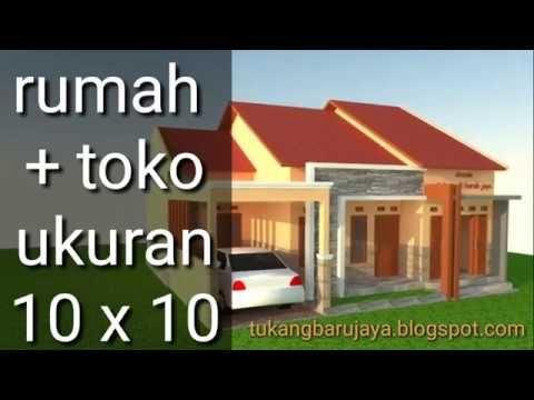 Rumah Toko Minimalis Youtube Rumah Minimalis Desain Rumah