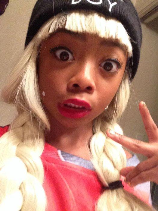 skai jackson fashion style 2014 | Skai Jackson Amanda Bynes Halloween