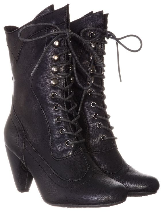 Coal Mill Victorian Boots | PLASTICLAND NEEDNEEDNEEDNEED!!: