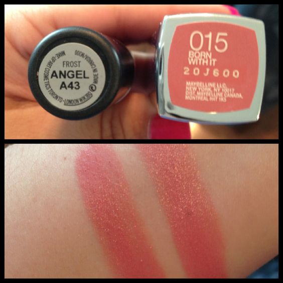 A dupe for M•A•C's Angel (left) is Maybelline's Born With ...