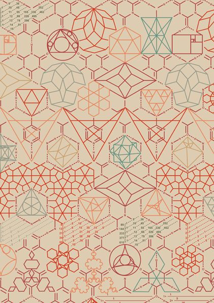 Design graphics and geometric shapes on pinterest