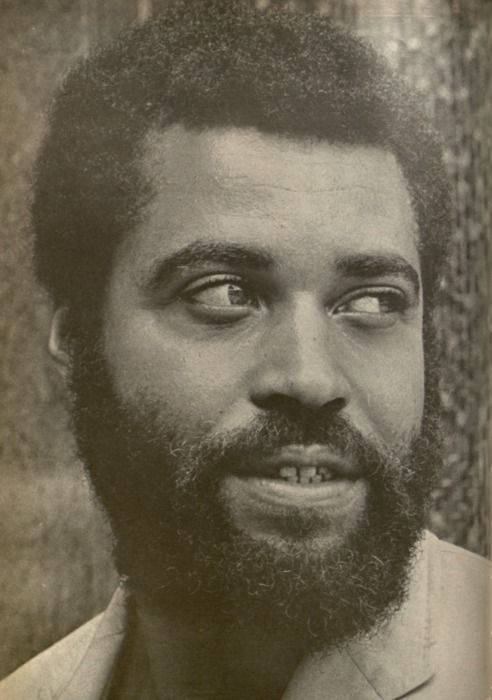 A young James Earl Jones. I don't usually go in for facial ...