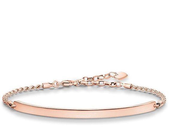 Thomas sabo rose gold valentine bracelet
