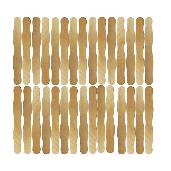 Wavy Jumbo Wood Craft Sticks By Creatology Craft Stick Crafts Wood Crafts Wood Carving Tools