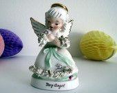 Vintage Napco Ceramic May Angel