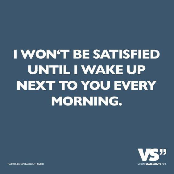 Liebe, aufwachen