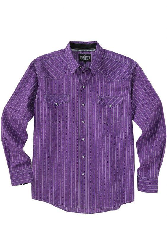 Garth Brooks Seven by Cinch Purple Stripe