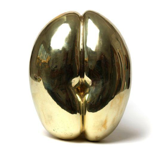 Coco de Mer, Polished Bronze