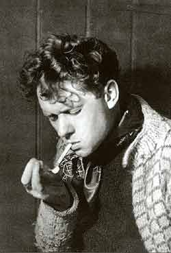 DYLAN THOMAS. Smoker, drinker, womaniser, but he could string words lyrically together like few others. Robert Zimmerman borrowed his name but did not disgrace it.