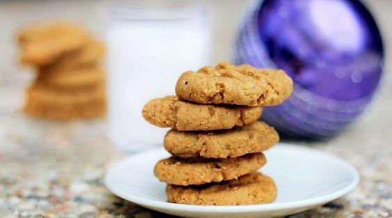 Peanut butter cookies vegsn style