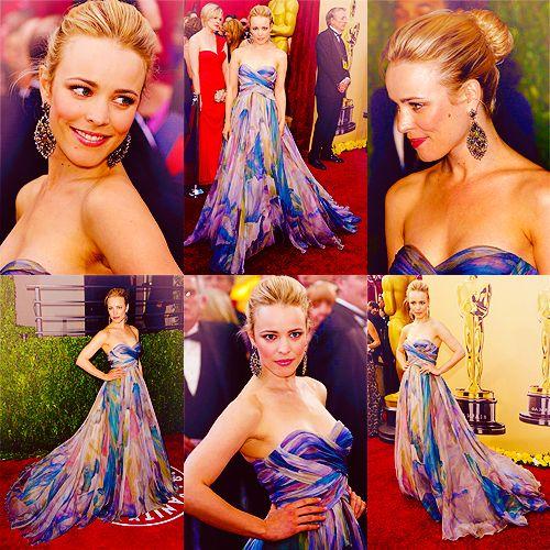 LOVED when Rachel McAdams wore this dress.