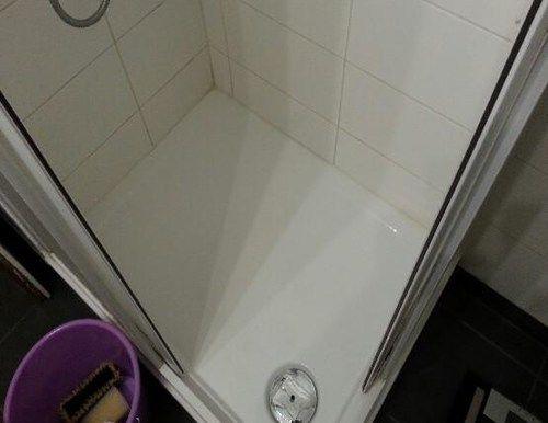 Dusche reinigen