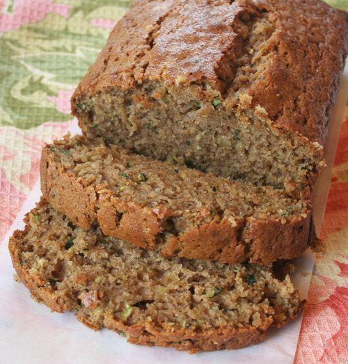 Spiced Zuchini Bread