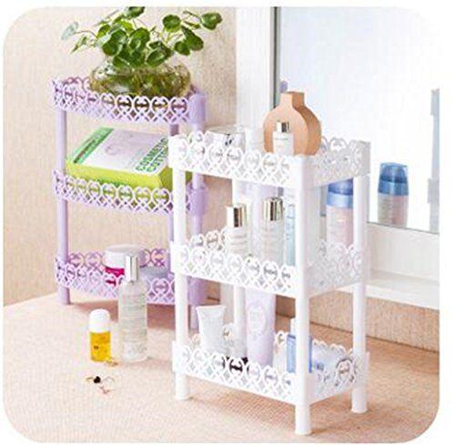 Storage Shelves Plastic Basket Square