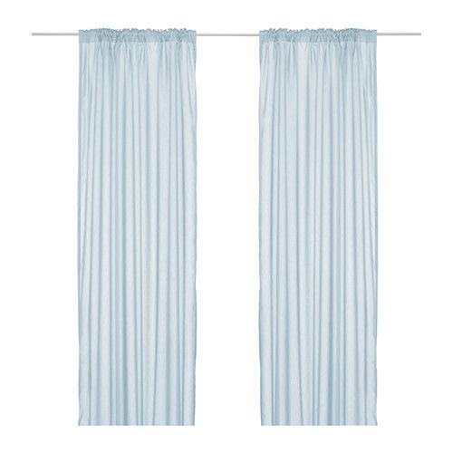 Ikea   vivan, curtains, 1 pair, , the curtains let the light ...